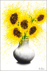 Canvas print  Sunflower Song - Ashvin Harrison