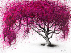 Canvas  Opulent plum tree - Ashvin Harrison