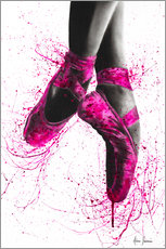 Foam board print  Pretty in Pink - Ashvin Harrison