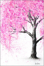 Canvas  Mysterious blossom - Ashvin Harrison