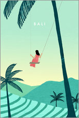Gallery print  Illustration of Bali - Katinka Reinke