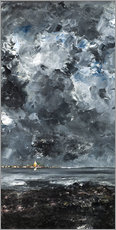 Canvas  The Town - August Johan Strindberg