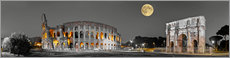 Wall Stickers  Colosseum in the moonlight - Art Couture