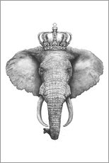 Premium poster The Elephant King