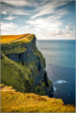 Canvas print  Cliffs of Moher in Ireland - Sören Bartosch
