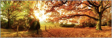Premium poster  Autumn feeling - Art Couture