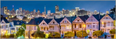 Canvas print  Streets of San Francisco - Art Couture