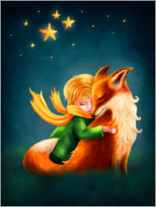 Premium poster The Little Prince and The Fox