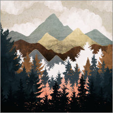 Gallery print  Forest View - SpaceFrog Designs