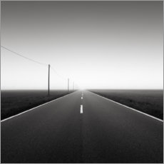 Premium poster Road to nowhere