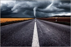 Premium poster A road leads towards Tornado