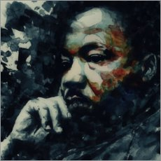 Foam board print  Martin Luther King - Paul Lovering Arts