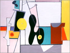 Canvas print  Composition in pink - Arshile Gorky