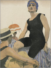 Foam board print  Swimwear July 1918 - Ernst Heilemann