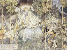 Premium poster Fairy Midsummer Night's Dream