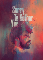 Canvas print  Sorry To Bother You - Fourteenlab