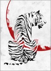 Wall sticker  Tiger - Nikita Abakumov