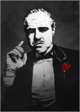 Aluminium print  The Godfather - Nikita Abakumov