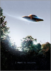 Canvas print  I Want To Believe - Nikita Abakumov