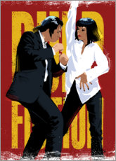 Premium poster  Pulp Fiction Dance - Nikita Abakumov