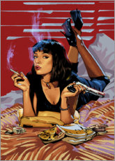Premium poster Pulp Fiction