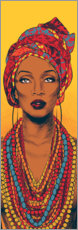 Premium poster African woman