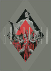 Wall sticker  Suspiria - Fourteenlab