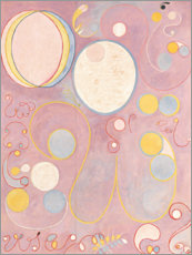 Wood print  The Ten Largest, No. 8, Adulthood - Hilma af Klint