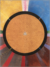 Canvas print  No. 3, Altarpiece - Hilma af Klint