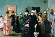 Acrylic print  Albertine to see the Police Surgeon - Christian Krohg