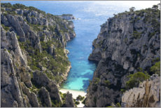 Canvas  Calanque of Marseille - Vincent Xeridat
