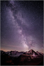 Acrylic print  Night in Grindelwald - Peter Wey