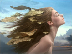 Acrylic print  Facing the wind - Johnny Palacios
