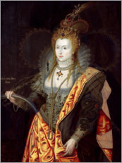 Premium poster  Elizabeth I of England - George Peter Alexander Healy