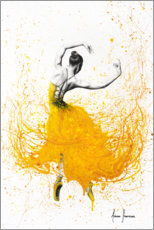Wood print  Daisy Yellow Dancer - Ashvin Harrison