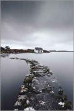 Wall sticker  A fisherman's hut in the endless wilderness of Connemara Ireland - Philipp Dase