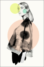 Canvas print  Pastell fashion darling II - Sarah Plaumann