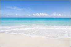 Acrylic print  Dream beach in the Maldives - Jan Christopher Becke