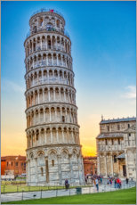 Premium poster The leaning tower of Pisa