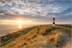 Aluminium print  Lighthouse List East on Sylt - Jan Christopher Becke