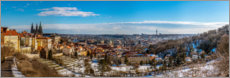 Forex  View over Prague from the Strahov Monastery - HADYPHOTO by Hady Khandani