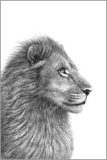 Premium poster  The Lion - Valeriya Korenkova