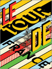 Canvas print  The Tour de France - Wyatt9