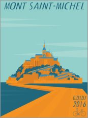 Canvas print  Mont Saint Michel 2016 - Wyatt9