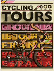 Gallery print  Cycling Grand Tours - Wyatt9