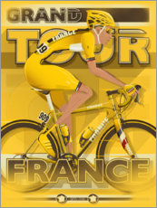 Canvas print  Grand Tour - France - Wyatt9