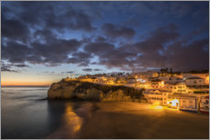 Foam board print  Carvoeiro at the Algarve, Portugal - Gerhard Wild