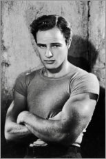 Premium poster  Marlon Brando - Celebrity Collection