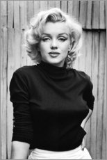 Aluminium print  Marilyn Monroe - Celebrity Collection