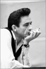 Canvas print  Johnny Cash - Celebrity Collection